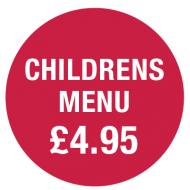 Childrens Menu £4.95